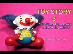 DIY Toy Story 3 Chuckles the clown - Polymer clay tutorial, My Crafts and DIY Projects