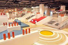 Visual Merchandising, Indoor Playroom, Playroom Flooring, Drawing Interior, Playground Design, Parking Design, Design Blog, Kids Store, Design Furniture