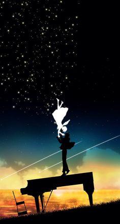 Illustrations by Harada Miyuki: 3 Manga Art, Manga Anime, Anime Galaxy, Your Lie In April, Japon Illustration, Image Manga, Hayao Miyazaki, Anime Scenery, Ghibli
