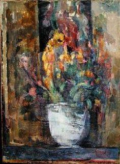 Paul Cézanne - Vase of Flowers