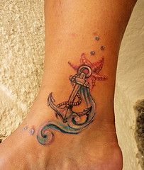 perfect! anchor + wave + starfish
