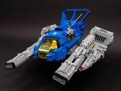 LEGO MOC   LL-932 Cosmic Neutralizer -- Close Up #classic #space