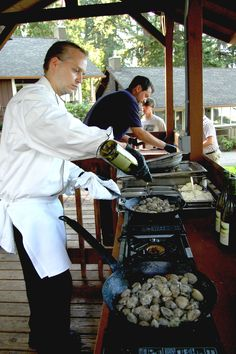 Clam Bake every Wednesday in August: Located on our cottage lawn from 5-6PM, complimentary to overnight guests  #alderbrook #hoodcanal #luxurytravel  http://www.alderbrookresort.com/area-activities/whats-happening/