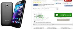 Smartphone Blu Studio Dual Chip 3G Tela 5.0 Câmera 5MP  Frontal Dual Core 1.0Ghz 4GB Android 4.1 << R$ 29990 em 3 vezes >>
