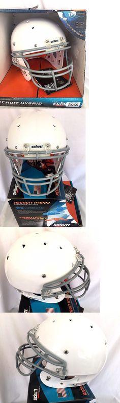 Helmets and Hats 21222: 2016 Schutt 798003 Youth Recruit Hybrid Football Helmet Size Xl - Dk3_32 -> BUY IT NOW ONLY: $42.5 on eBay!
