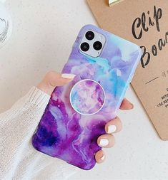 For iPhone 11 Pro Max New one soft TPU case With a holder. IMD process, the color will not fade. Case is Made Of High Quality Soft TPU Gel Rubber. Soft TPU case wraps all around the edges Kawaii Phone Case, Girly Phone Cases, Pretty Iphone Cases, Diy Phone Case, Iphone Phone Cases, Iphone Case Covers, Iphone 11, Support Iphone, Telephone Iphone