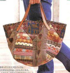 Интересная сумочка из японского журнала Handmade