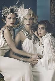 gatsby style hair for women - Google zoeken