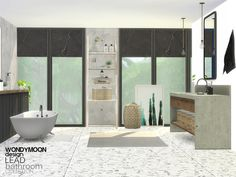 - Lead Bathroom  Found in TSR Category 'Sims 4 Bathroom Sets'