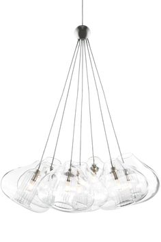 1STOPlighting.com | Cheers - Seven Light Monorail Low Voltage Pendant