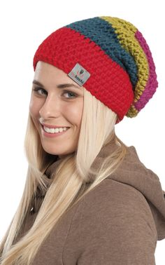 Nordic Yarns and Design since 1928 Crochet Beanie, Knitted Hats, Knit Crochet, Crochet Hats, Crochet Accessories, Loom Knitting, Crochet Clothes, Easy Crochet, Handicraft