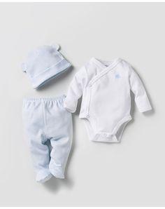 Pack bodys de bebé niño recién nacido Cotton Juice