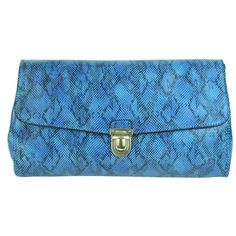 787db0ffaf SG 300.00 real prada wallets blue snakeskin shop online. Hellen Yao · leather  bags
