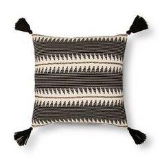 "Braided Throw Pillow (18"") - Black - Threshold™ : Target"