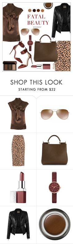 """Let's Work! 60-second style ☆"" by ultracake ❤ liked on Polyvore featuring Lanvin, Oliver Peoples, Diane Von Furstenberg, Dolce&Gabbana, Clinique, Skagen, Seed Design, Giorgio Armani, Tom Ford and WorkWear"