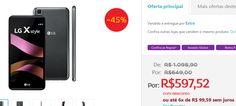 """Smartphone LG X Style 16GB Tela 5.0"""" Câmera 8MP 4G Processador Quad Core de 1.3 GHz e 1.5GB de RAM << R$ 59752 em 6 vezes >>"""