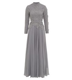 Grey Maya Evening Gown - £89.99 : Inayah, Islamic Clothing & Fashion, Abayas, Jilbabs, Hijabs, Jalabiyas & Hijab Pins