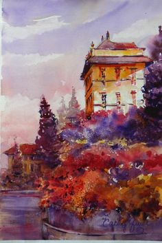 Cathy Quiel   WATERCOLOR