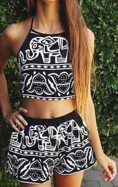 2 piece summer set! Absolutely LOVE this pattern!! Get yours today!