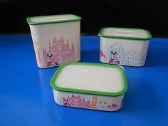 Vintage plastic container set