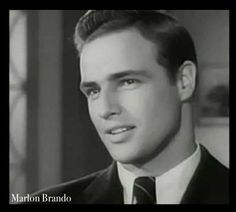 """Marlon Brando- 43 Film  Credits: First role was in """"The Men"""" 1950. Last role was in """"You Rock My World"""" 2001. Born on 4/3/1924, died on 7/1/2004."""