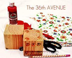 The 36th AVENUE | Wood Dice TUTORIAL… | The 36th AVENUE