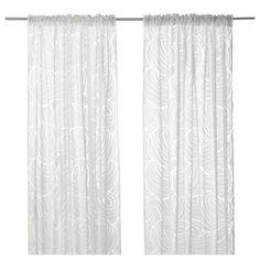 NORDIS cortinas transparentes, 1 par