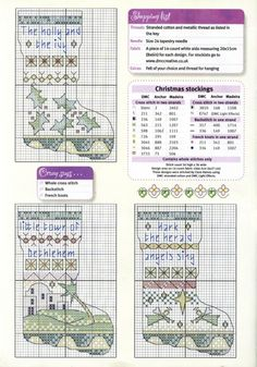 Cross Stitch Crazy 107 (January 2008) - 7 Christmas Stockings 2/4