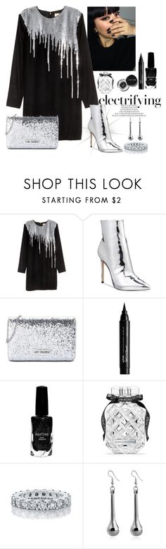 """Metallic Boots"" by monicalyn ❤ liked on Polyvore featuring ALDO, Love Moschino, Bobbi Brown Cosmetics, NYX, Azature and Victoria's Secret"