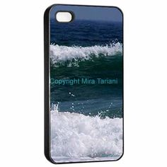 "iPhone case with image from my photo gallery, ""Deep Ocean"""