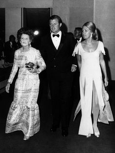 Rose, Ted and Joan Kennedy
