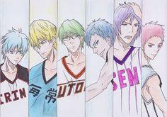 Kiseki no Sedai from Kuroko no Basket (Fan Art) - DeviantArt: http://airtoncs.deviantart.com Twitter: https://twitter.com/manga_plaza Google+: https://plus.google.com/u/0/b/1088372...