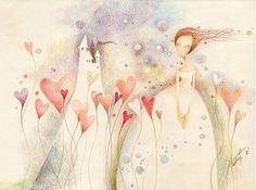 ajsha / .... biele kone vymreli Projects, Painting, Art, Colors, Art Background, Blue Prints, Painting Art, Kunst, Paintings