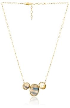Sterling Silver with Labradorite Stone Necklace * Check this awesome product by going to the link at the image.(This is an Amazon affiliate link)