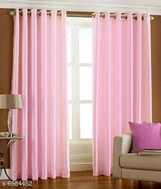 Curtains & Sheers New chaming curtains and sheer Material: Polyester Print or Pattern Type: Solid Length: Window Multipack: 2