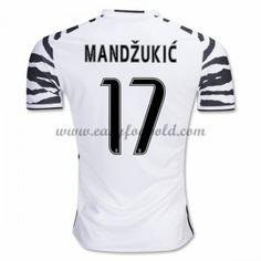 Fodboldtrøjer Series A Juventus 2016-17 Mandzukic 17 3. Trøje