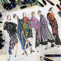 6 ilustradores de moda para seguir en Instagram | CC - Cultura Colectiva