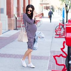 Stylish Maternity Outfit Ideas | POPSUGAR Fashion
