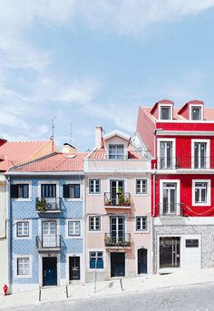 Piérdete en las calles coloreadas de Lisboa