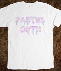 Pastel Goth #tumblr #pastel #goth #grunge #90s #retro #hippie #vintage #fashion #pastelgoth
