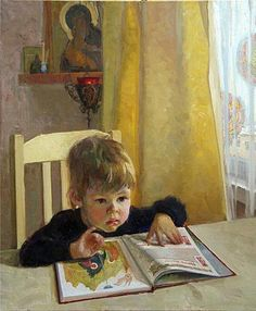 ''Christmas'' by Elmira Petrova - this reminds me of Ben when he was little