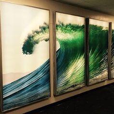 quadro, frame, onda,arte