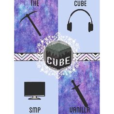 Cube SMP Vanilla and Evolution Posters typically A3 in by CubeSMP