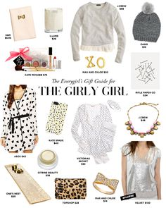 The Everygirl's 2014 Holiday Gift Guide: For the Girly Girl #theeverygirl