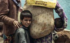 Nomads kid in Himalayas