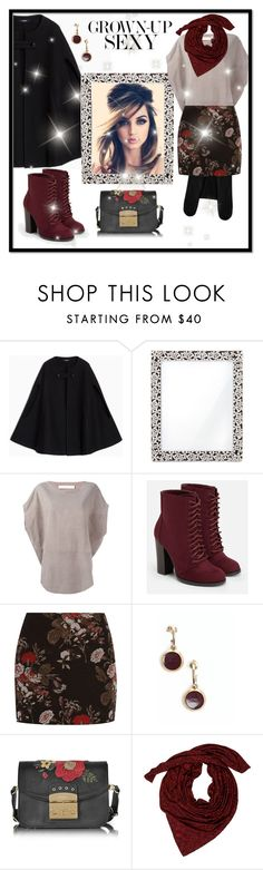"""""""Grown-Up Sexy"""" by curvygirlamy ❤ liked on Polyvore featuring Max&Co., L'Objet, Drome, JustFab, Ganni, Chanel, Furla, Zac Posen and Burberry"""