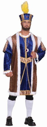 RG Costumes Mens Renaissance Royal King Black One Size ** See this great product.