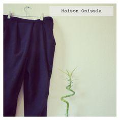 Collection Automne Hiver 2014 Maison Onissia sur www.maisononissia.com Harem Pants, Collection, Fashion, Women's Feminine Outfits, Fall Winter 2014, Home, Moda, Harem Jeans, Fashion Styles