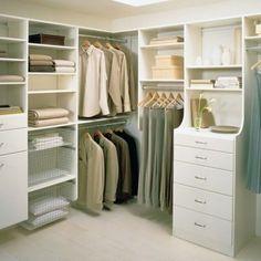 15 closets e armários para inspirar a organização de suas roupas