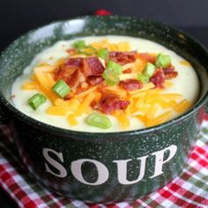 Made this for dinner tonight, it was awesome! A little on the thick side, but I like soups that way...better than any restaurant potato soup! Warning: this recipe makes A LOT of soup. Hope it freezes well.